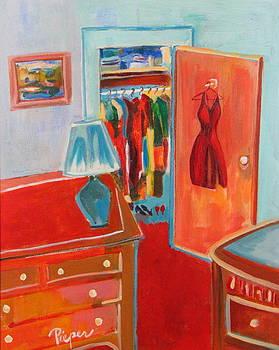 Betty Pieper - The Red Hot Dress