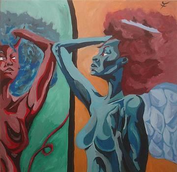 The Reflection by Jason JaFleu Fleurant