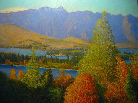 Terry Perham - The Remarkables Autumn