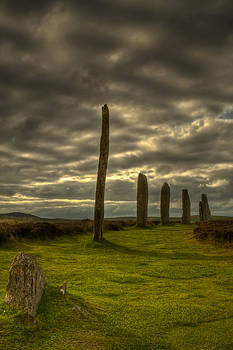 The Ring of Brodgar Orkney Scotland by Gabor Pozsgai