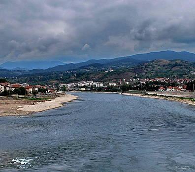 The river Drina... by Marija Djedovic