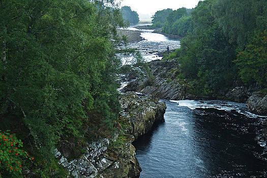 The River Oykel by Steve Watson