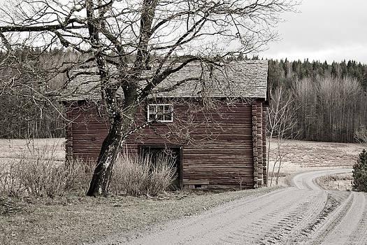 The Road Back Home Sephia by Fredrik Ryden