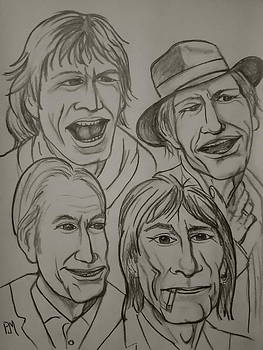 The Rolling Stones by Pete Maier