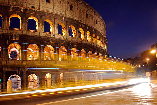 The Roman Colosseum by Jeff Rose