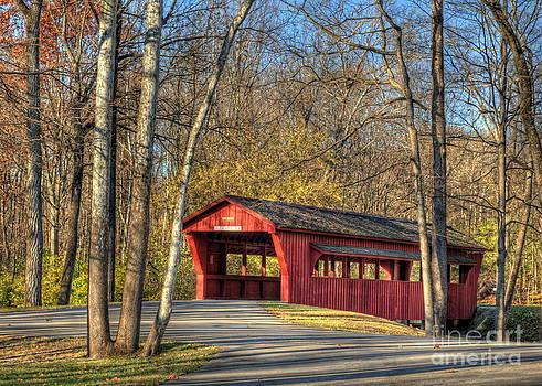 The Ross Covered Bridge by Pamela Baker