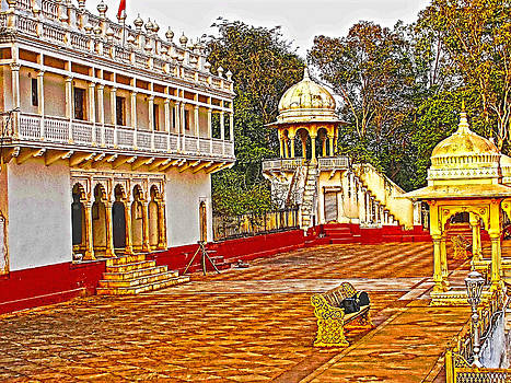 The Royal Corridor by Makarand Purohit