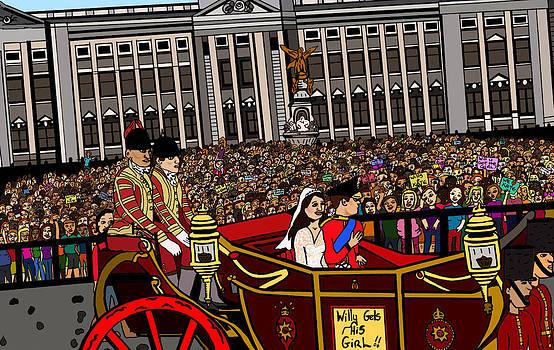 The Royal wedding  by Karen Elzinga