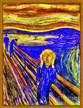 The Scream by Vidka Art
