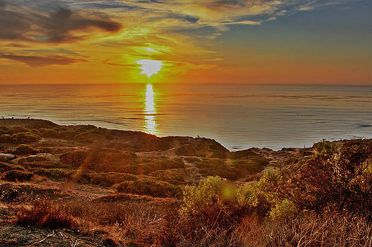 The Setting Sun HDR by Jeremy McKay