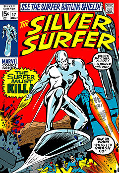 The Silver Surfer 17 by Steven Benton