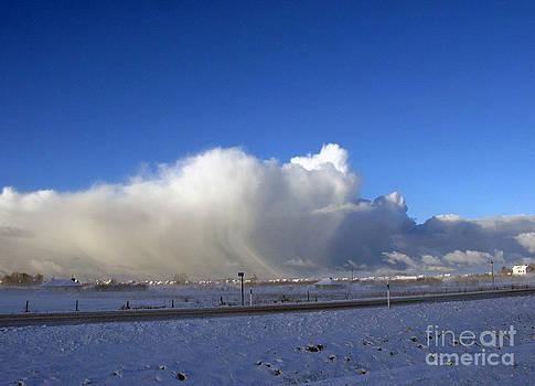 The Snowstorm Is Coming 01 by Ausra Huntington nee Paulauskaite