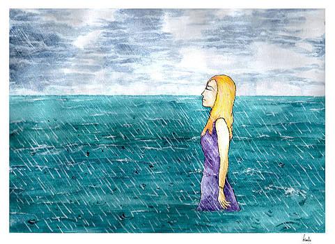 The sound of the rain  by Katchakul Kaewkate