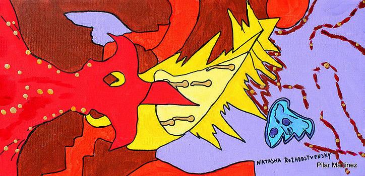 The Spotty Phoenix  by Natasha  Rozhdestvensky