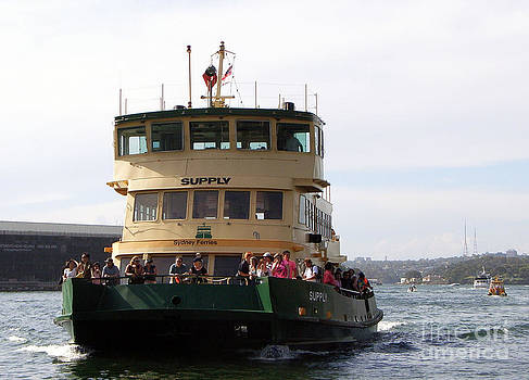 The Sydney Harbour Ferry Supply by Joanne Kocwin