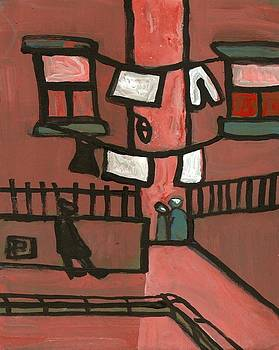 The tenement by Peter  McPartlin