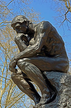 Lisa Phillips - The Thinker by Rodin