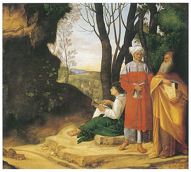 Giorgione - The Three Philosophers
