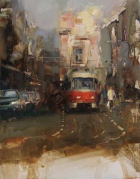 The Tram by Tibor Nagy