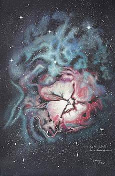 The Trifid Nebula by Patsy Sharpe