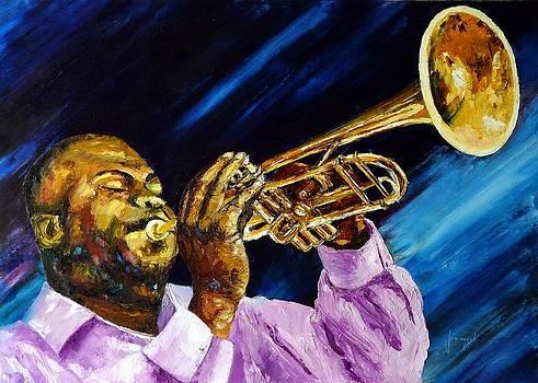 The trumpet player by Jean-Marc JANIACZYK