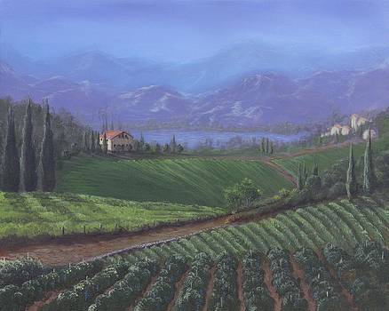The Tuscanesque Valley by Kent Nicklin
