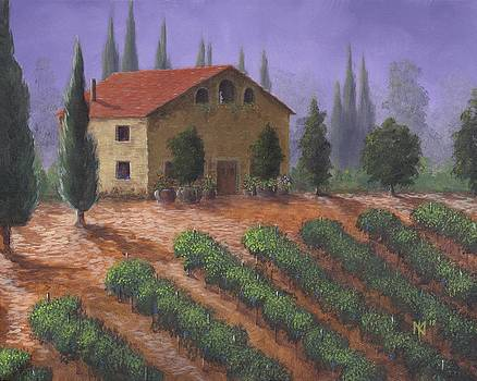 The Tuscanesque Villa by Kent Nicklin