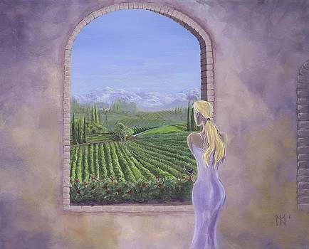 The Tuscanesque Vista by Kent Nicklin