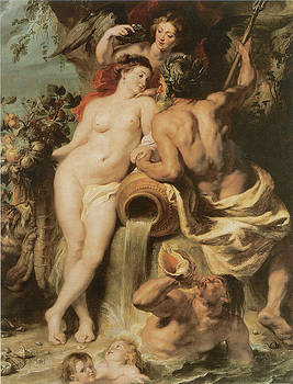Sir Peter Paul Rubens - The Union of Earth and Water