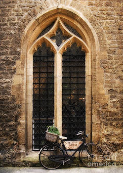 The Vaults Garden Cafe Bicycle in Oxford England by Jay Taylor