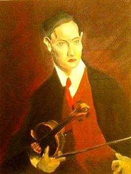 The Violinist by Ronald Lee