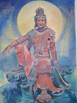 The Water and Moon Guanyin by D Marie LaMar
