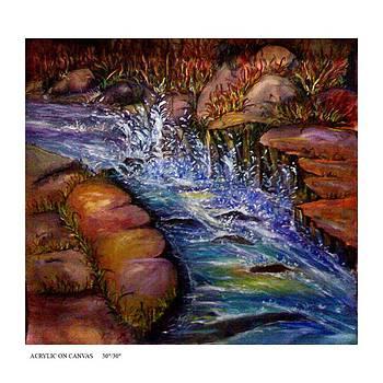 The Water Danc by Keshaw Kumar