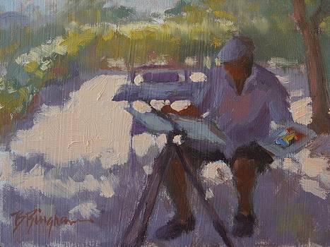 The Watercolorist by Bruce Bingham