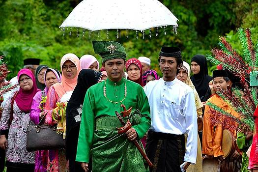 The Wedding by Ku Azhar Ku Saud