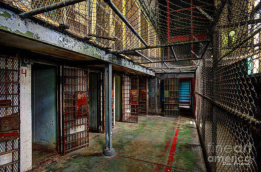 Dan Friend - The West Virginia State Penitentiary cells