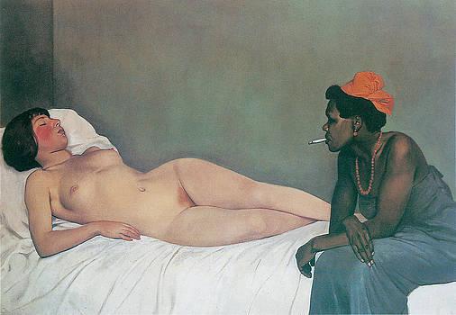 Felix Vallotton - The White and The Black