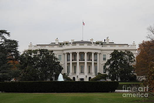 The White House in November by Juan Rodriguez