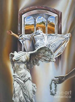 The Window Of Heaven by Victor Hagea