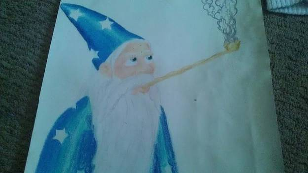 The Wizard by Paul Chittenden