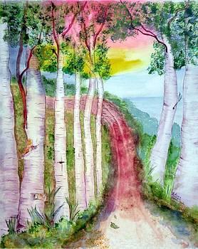 The Woodlands by Myrna Migala