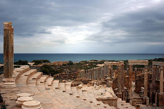Theatre, Leptis Magna, Libya by Joe & Clair Carnegie / Libyan Soup
