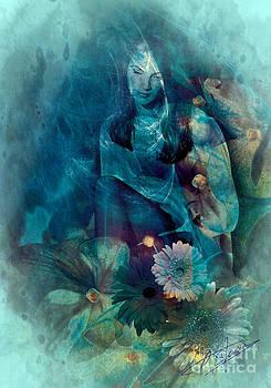 Thinking in blue by Pavlos Vlachos