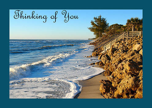 Carmen Del Valle - Thinking of You Greeting Card