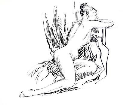 Third Nude Position by Aileen Markowski