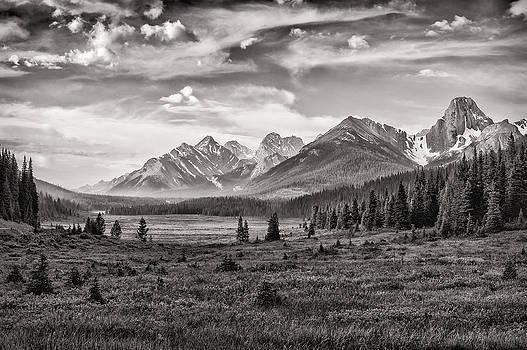 Paul W Sharpe Aka Wizard of Wonders - This is Alberta No.24 - Spray Valley