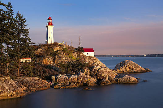 Paul W Sharpe Aka Wizard of Wonders - This is British Columbia No.62 - Point Atkinson Lighthouse Point