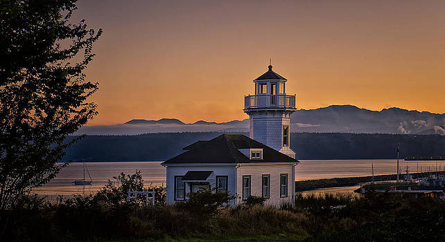 Paul W Sharpe Aka Wizard of Wonders - This is Washington State No. 11 - Port Townsend Light House