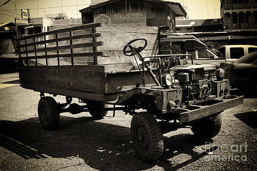 This Old Truck by Thanh Tran