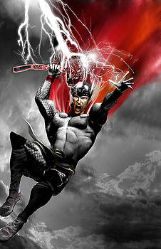 Thor by Gary Deslauriers